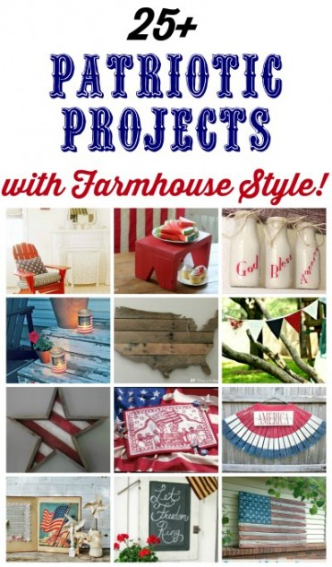 4th of July Red White and Blue Patriotic Decor | www.knickoftime.net