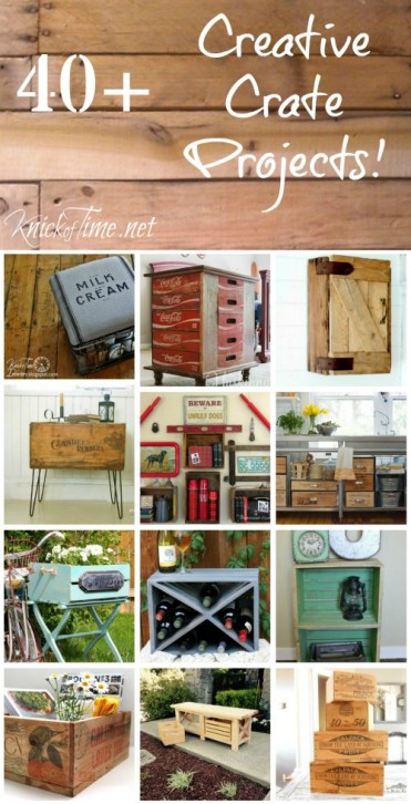 crates home decor