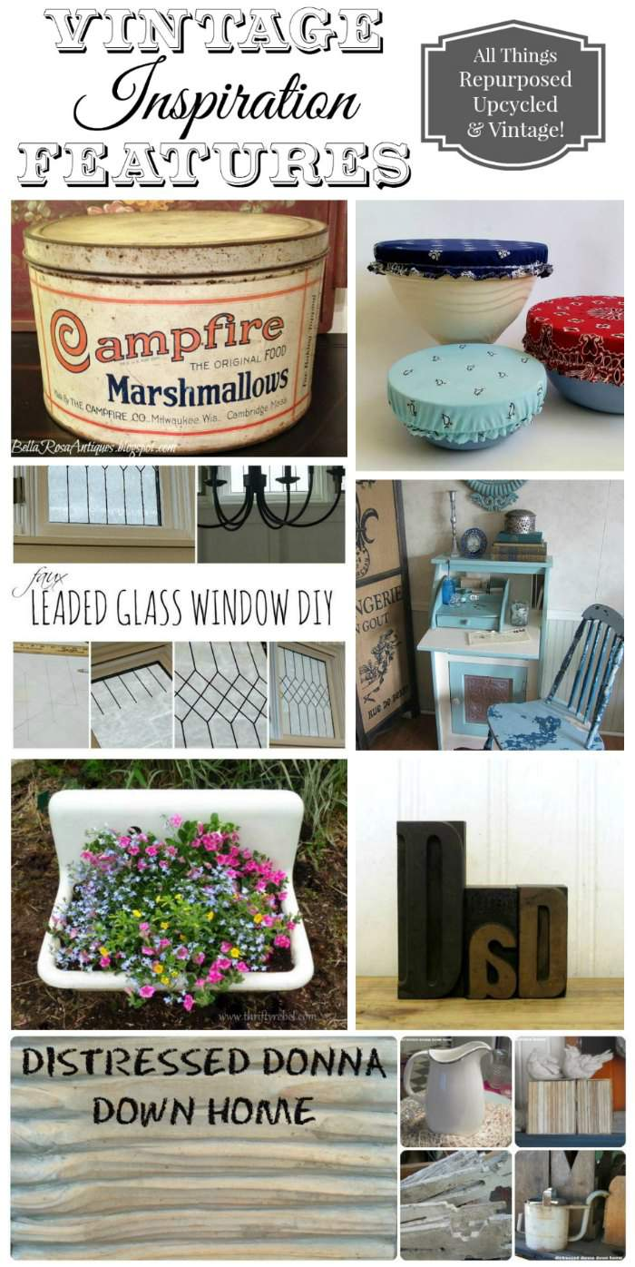 Repurposed and Upcycled Projects and Home Decor