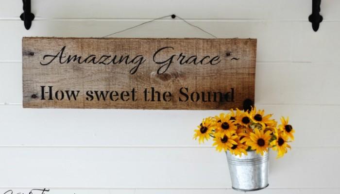 A Little More Grace