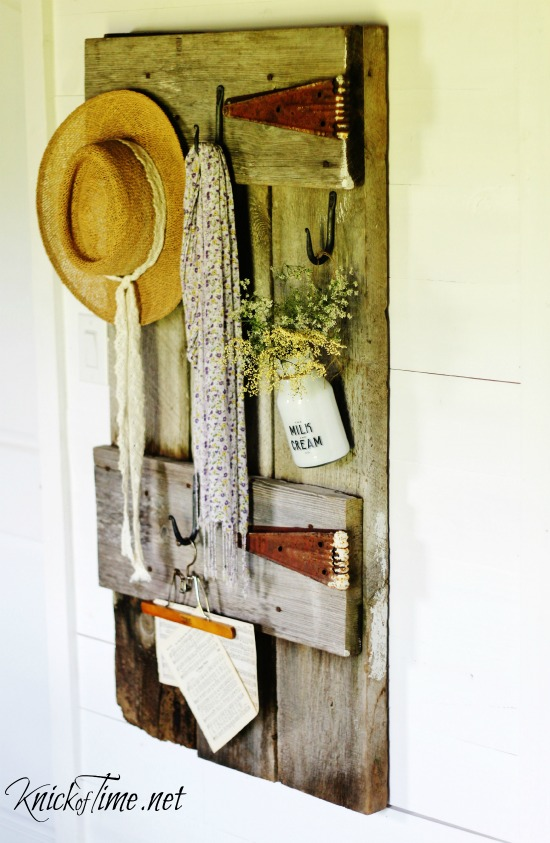 repurposed barn door