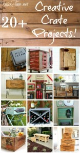 Farmhouse Friday : 40+ Creative Crates Ideas
