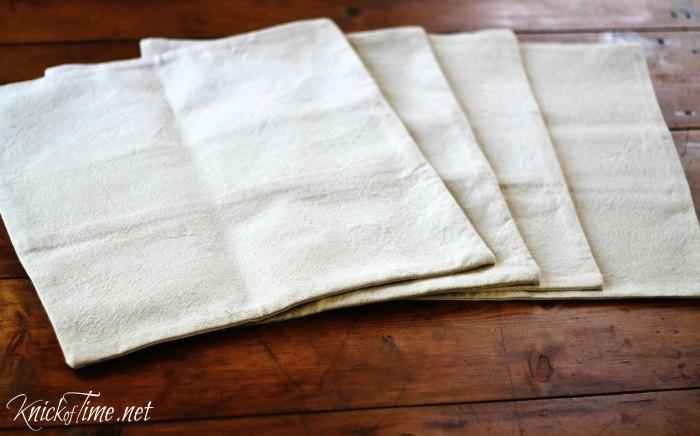 envelope closure pillow cover