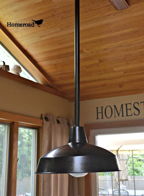 30 Farmhouse Lighting Ideas via Knick of Time