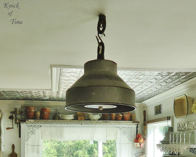milk can strainer light