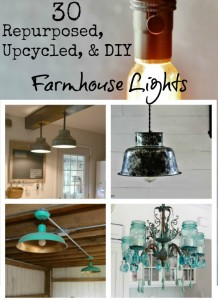 Farmhouse Lighting – Farmhouse Friday #12
