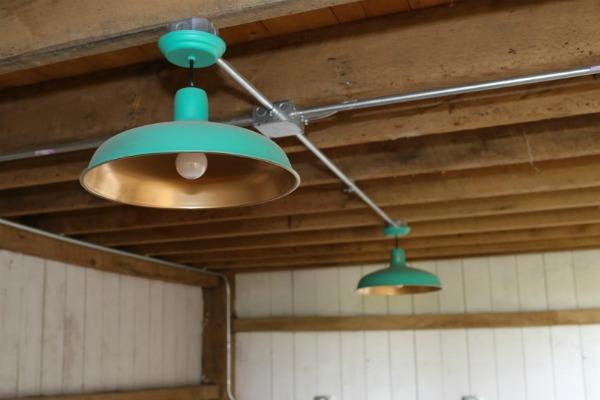 farmhouse barn lights via KnickofTime.net