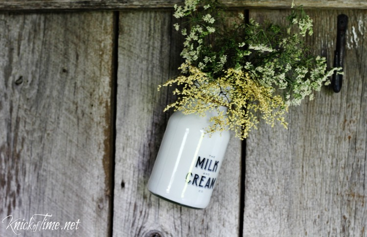 milk and cream company bottle
