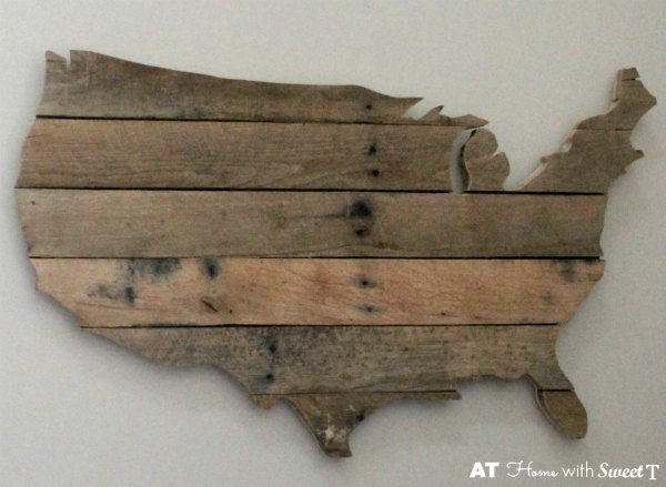 pallet wood map