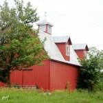 red barn weathervane