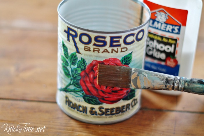 recycled tin can craft