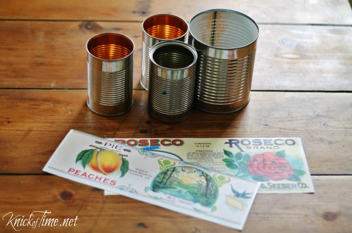 tin cans projects