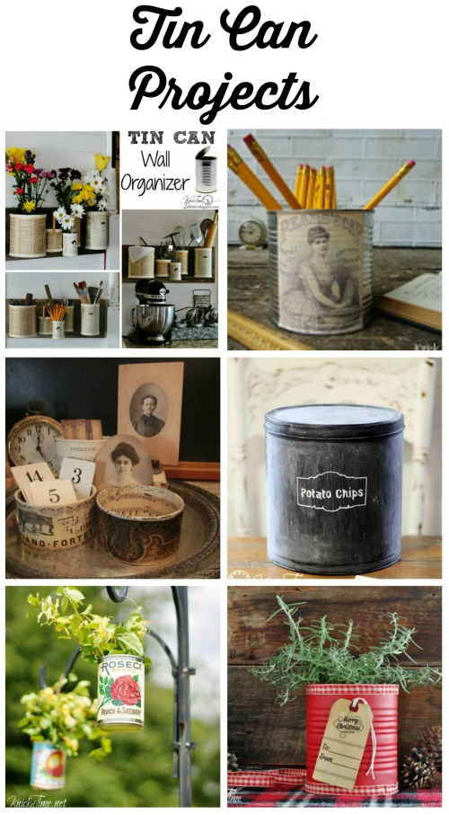 tin can projects