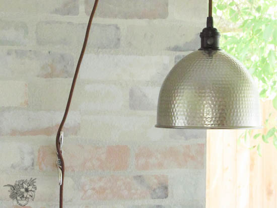 insulator pendant light