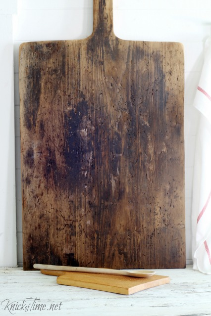 old cutting board