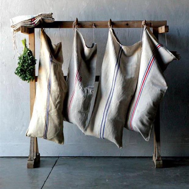 Grain Sack Laundry Bag - KnickofTime.net