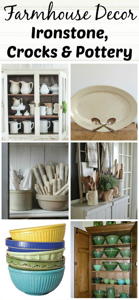 Farmhouse Friday 16 Ironstone Crocks Pottery Knick Of Time