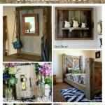 salvaged wood home decor