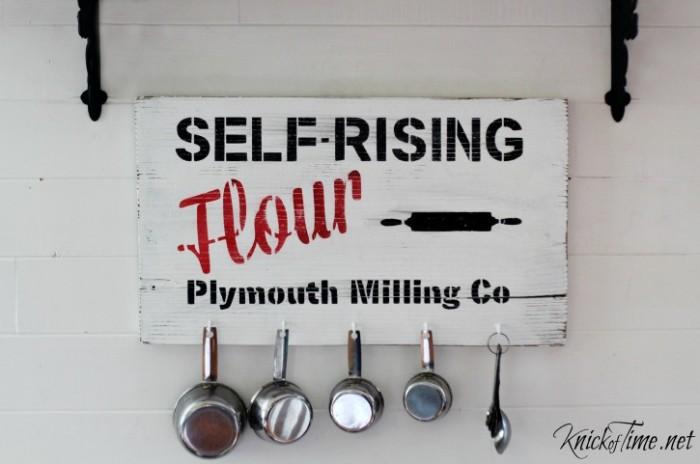 farmhouse decor baking center sign