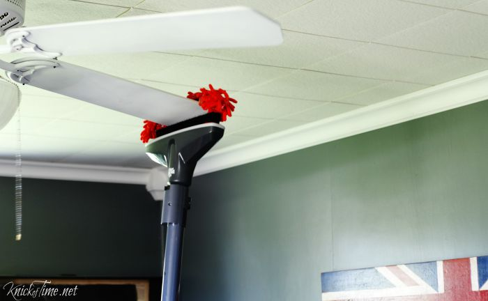 cleaning tips ceiling fan