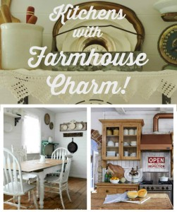 Farmhouse Friday #14 – Farmhouse Kitchens with Charm and Function