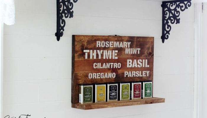 Rosemary & Thyme and a Garden Herbs Sign