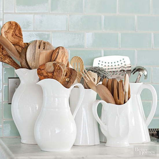 kitchen storage pitchers