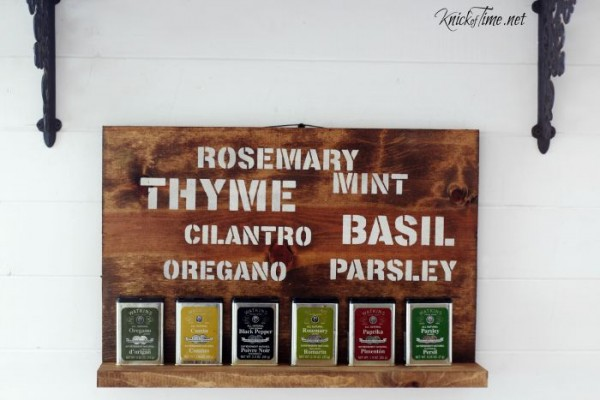 rosemary and thyme herbs sign