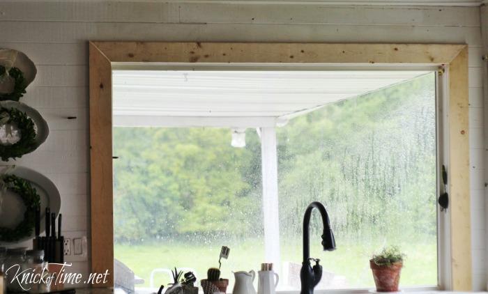 farmhouse window trim