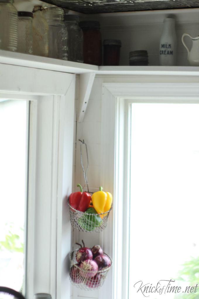 wire kitchen baskets