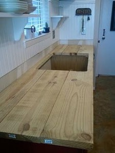 New Wood Countertop