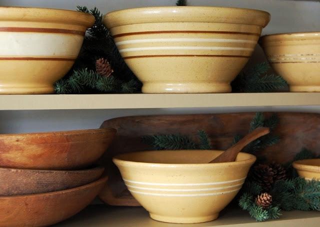 yellow ware bowls