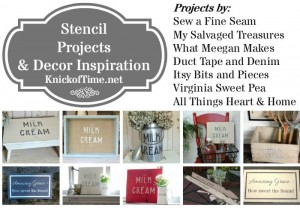 In the Spotlight – Stencil Projects and a Sale!