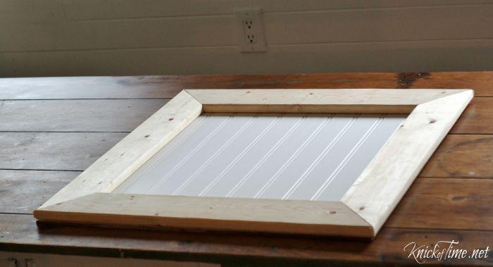 beadboard sign frame