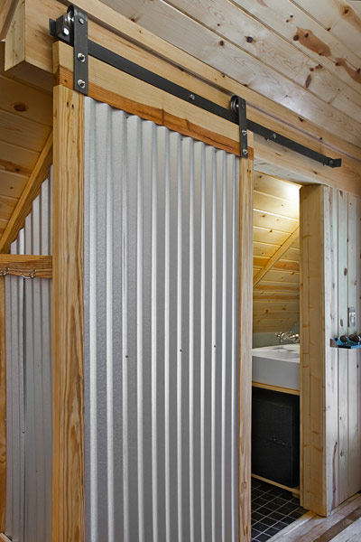 metal barn door