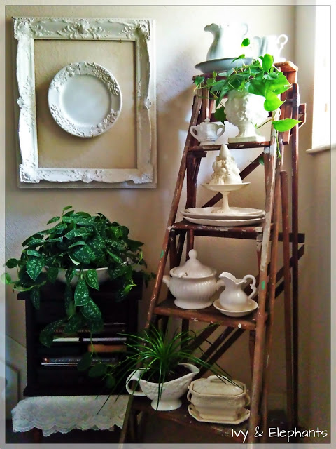 ironstone collection display