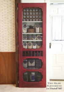 Vintage Inspiration Party #201 – Red Pantry Screen  Door and More and Giveaway Winner!
