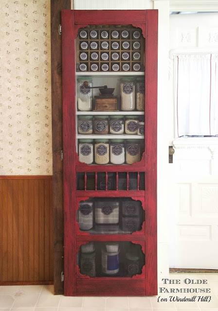 farmhouse pantry screen door
