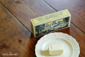 Vintage Butter Box Printable