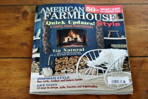 Weekending – American Farmhouse Style Magazine & Can You Name that Movie