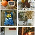 Farmhouse Autumn Decor and Project Ideas