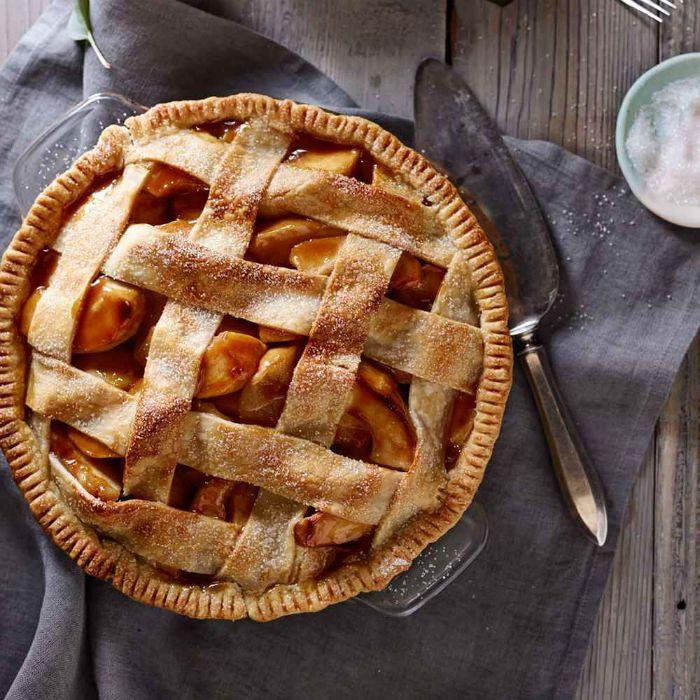 pple Pie with Lattice Crust