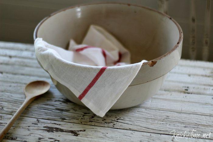 antique ceramic bowl