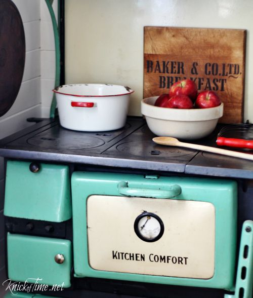 kitchen comfort antique oven