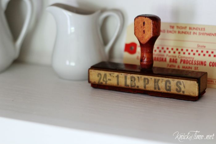 antique rubber stamp - KnickofTime.net
