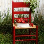 Apple Inspired Chair Makeover