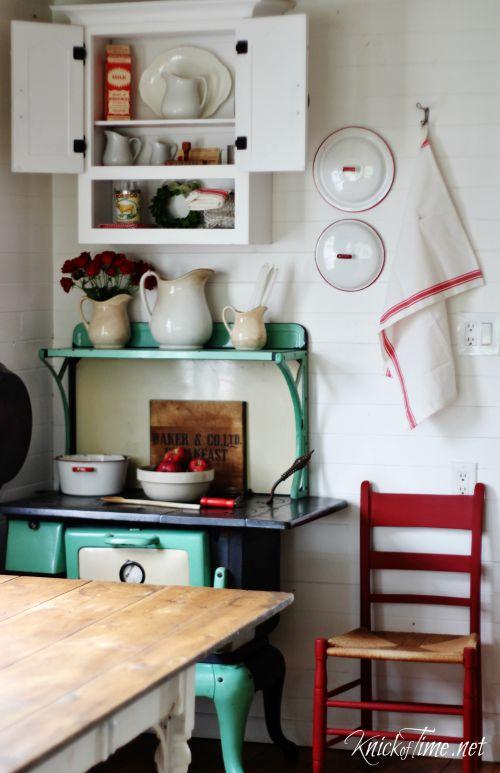 farmhouse cabinet - KnickofTime.net