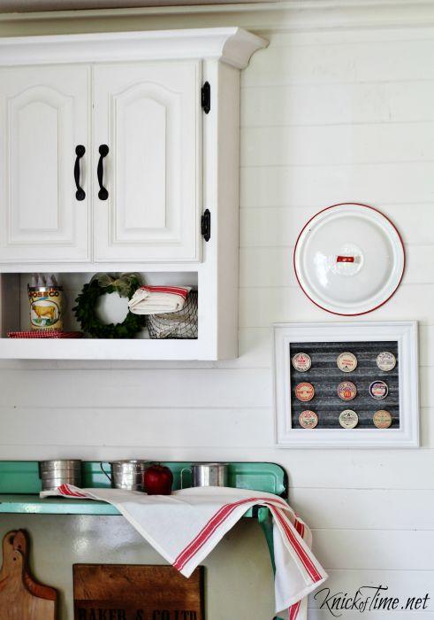 farmhouse kitchen wall art - KnickofTime.net - KnickofTime.net