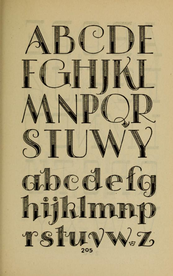 hand lettered alphabet handbook - KnickofTime.net