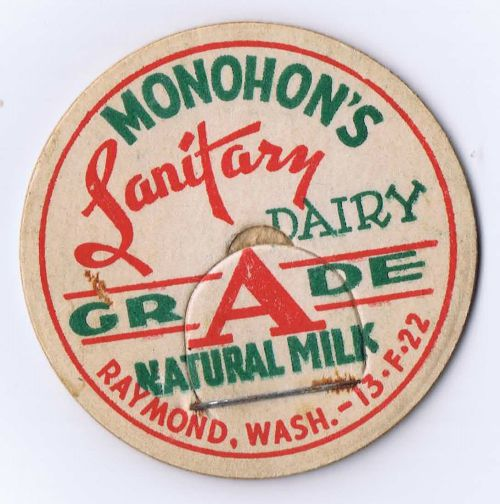 milk cap Raymond, Washington - KnickofTime.net